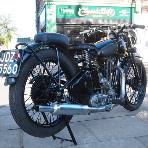 1936 Model 14 350cc.  RESERVED FOR MICHAEL. SOLD (picture 1 of 6)