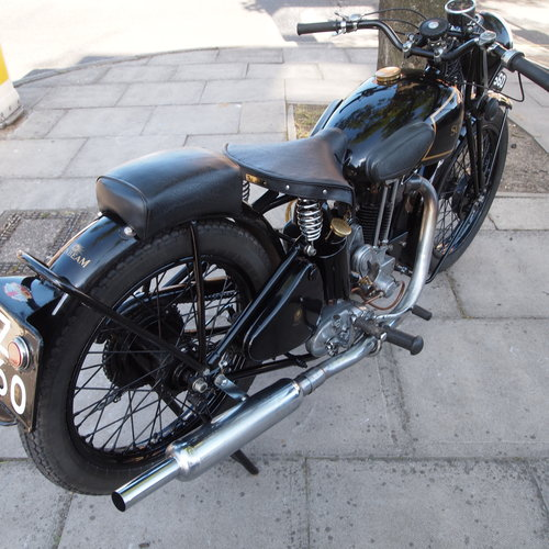 1936 Model 14 350cc.  RESERVED FOR MICHAEL. SOLD (picture 3 of 6)