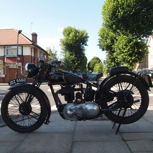 1936 Model 14 350cc.  RESERVED FOR MICHAEL. SOLD (picture 4 of 6)