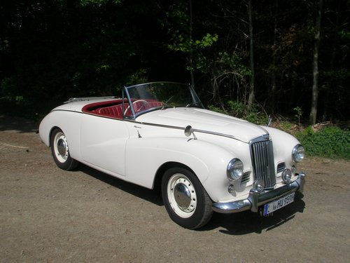 1955 Rare Alpine Roadster in excellent condition For Sale (picture 1 of 6)