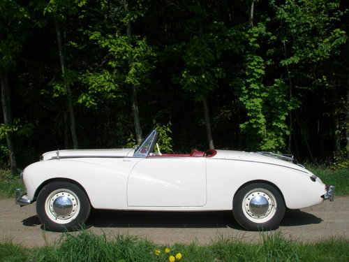1955 Rare Alpine Roadster in excellent condition For Sale (picture 3 of 6)