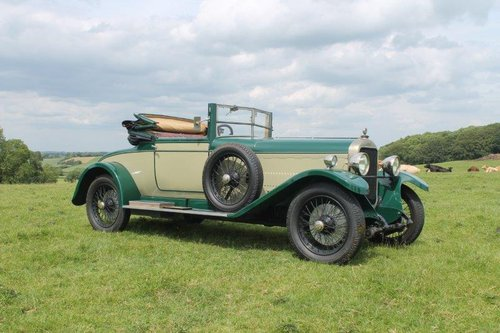 1925 Sunbeam 20/60 sports For Sale (picture 1 of 6)