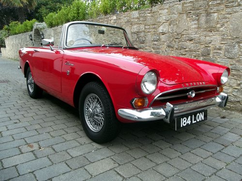 1964 SUNBEAM ALPINE SERIES IV SPORTS CONVERTIBLE SOLD (picture 1 of 6)