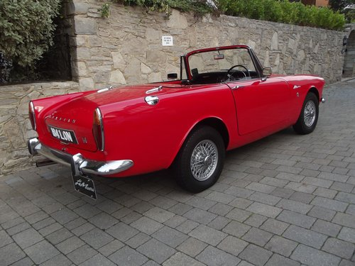 1964 SUNBEAM ALPINE SERIES IV SPORTS CONVERTIBLE SOLD (picture 2 of 6)