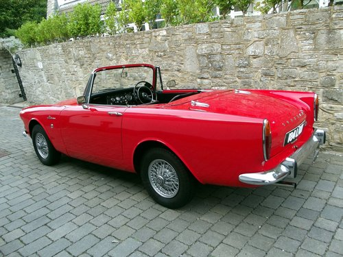 1964 SUNBEAM ALPINE SERIES IV SPORTS CONVERTIBLE SOLD (picture 3 of 6)
