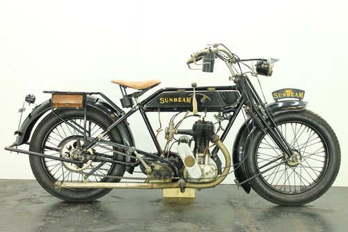Sunbeam 3.5hp 1922 500cc 1 cyl sv For Sale (picture 1 of 6)