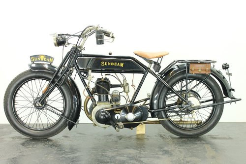 Sunbeam 3.5hp 1922 500cc 1 cyl sv For Sale (picture 2 of 6)