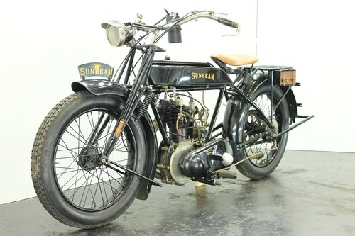 Sunbeam 3.5hp 1922 500cc 1 cyl sv For Sale (picture 3 of 6)