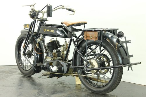 Sunbeam 3.5hp 1922 500cc 1 cyl sv For Sale (picture 4 of 6)