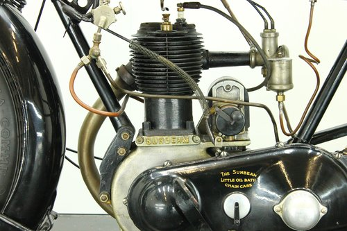 Sunbeam 3.5hp 1922 500cc 1 cyl sv For Sale (picture 6 of 6)