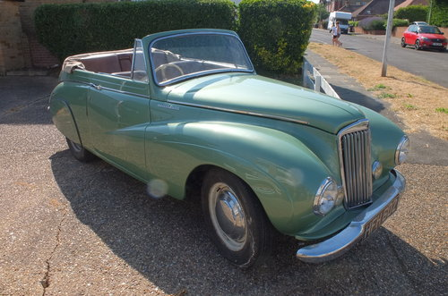 1950 Sunbeam Talbot 90 Drophead SOLD (picture 1 of 6)