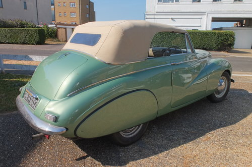 1950 Sunbeam Talbot 90 Drophead SOLD (picture 3 of 6)