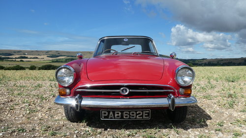1968 Sunbeam Alpine Series V Roadster  SOLD (picture 1 of 6)
