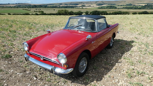 1968 Sunbeam Alpine Series V Roadster  SOLD (picture 2 of 6)