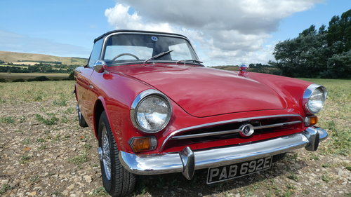 1968 Sunbeam Alpine Series V Roadster  SOLD (picture 3 of 6)