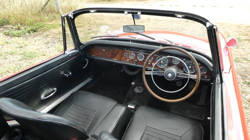 1968 Sunbeam Alpine Series V Roadster  SOLD (picture 4 of 6)