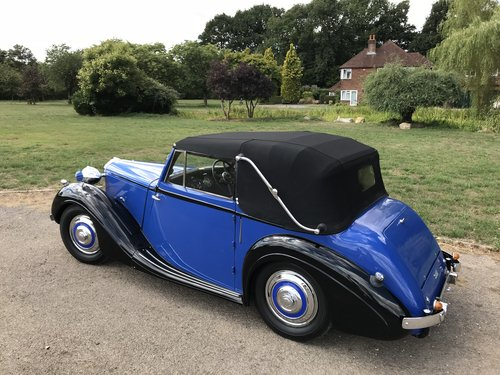 1938 Sunbeam Talbot Ten Drophead Coupe - Superb! SOLD (picture 2 of 6)