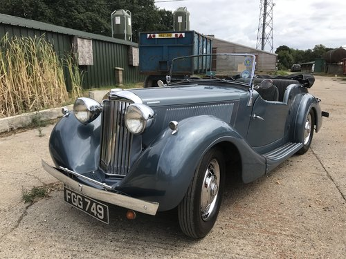 1948 Sunbeam Talbot Ten Sports Tourer - Reserved SOLD (picture 1 of 6)