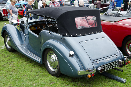 1948 Sunbeam Talbot Ten Sports Tourer - Reserved SOLD (picture 6 of 6)