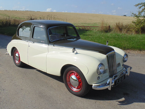 1953 Sunbeam Talbot 90 Mk2A SOLD (picture 2 of 6)