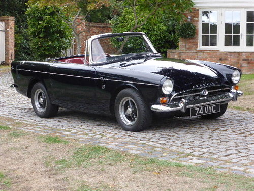 1965 Sunbeam Tiger 4.2L For Sale (picture 2 of 6)