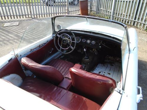 SUNBEAM ALPINE 1600 MK2 LHD BIG FIN CONVERTIBLE (1962) WHITE For Sale (picture 5 of 6)