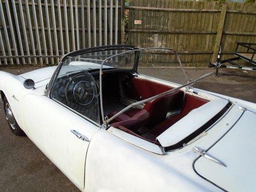 SUNBEAM ALPINE 1600 MK2 LHD BIG FIN CONVERTIBLE (1962) WHITE For Sale (picture 6 of 6)