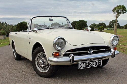 1967 Sunbeam Alpine Series V For Sale (picture 1 of 6)