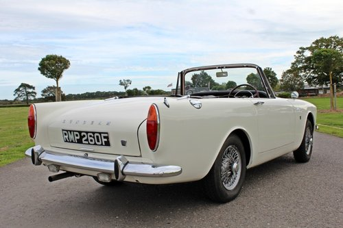 1967 Sunbeam Alpine Series V For Sale (picture 4 of 6)