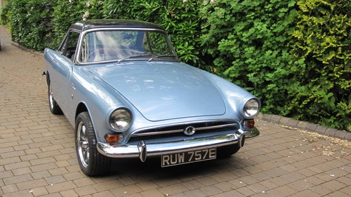 1967 Sunbeam Alpine Series 5 GT Hardtop - Concours SOLD (picture 1 of 6)