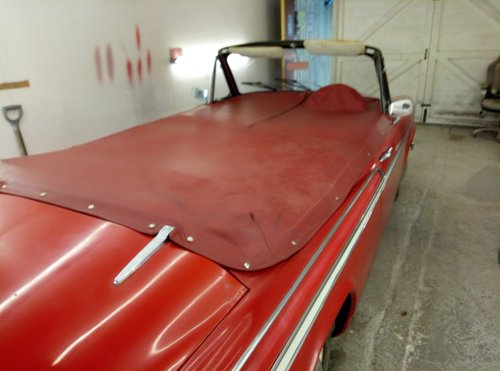 1963 SUNBEAM CONVERTIBLE  VERY RARE  IN NEED OF RECOMMISSIONING  For Sale (picture 4 of 6)