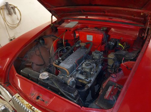 1963 SUNBEAM CONVERTIBLE  VERY RARE  IN NEED OF RECOMMISSIONING  For Sale (picture 5 of 6)