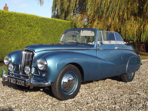 1952 Sunbeam Talbot 90 DHC Convertible.Stunning Condition For Sale (picture 1 of 6)