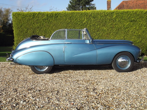 1952 Sunbeam Talbot 90 DHC Convertible.Stunning Condition For Sale (picture 2 of 6)