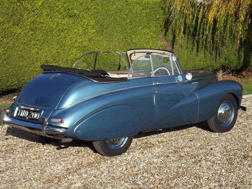 1952 Sunbeam Talbot 90 DHC Convertible.Stunning Condition For Sale (picture 3 of 6)