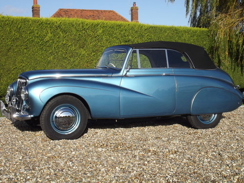 1952 Sunbeam Talbot 90 DHC Convertible.Stunning Condition For Sale (picture 6 of 6)