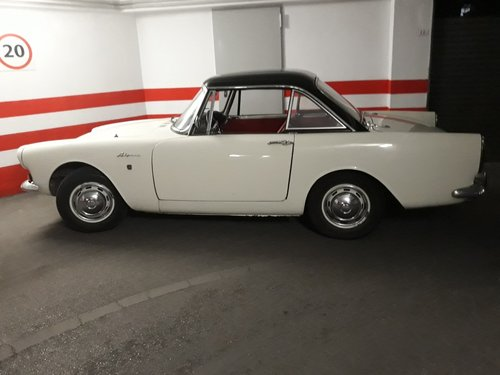 1964 LHD - Sunbeam Alpine MKIV with hard top - 1 owner For Sale (picture 1 of 2)