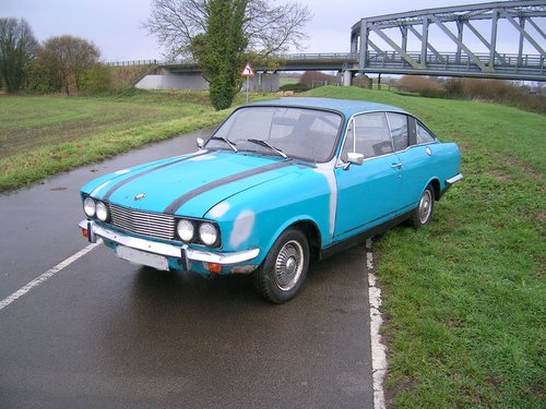 1970 Sunbeam Rapier Fast Back Historic Vehicle  For Sale (picture 1 of 5)