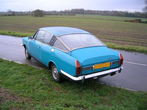 1970 Sunbeam Rapier Fast Back Historic Vehicle  For Sale (picture 3 of 5)