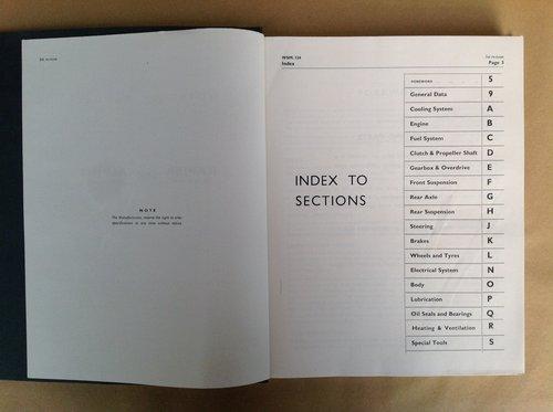 Sunbeam Rapier & Alpine Rootes Workshop Manual  For Sale (picture 3 of 4)