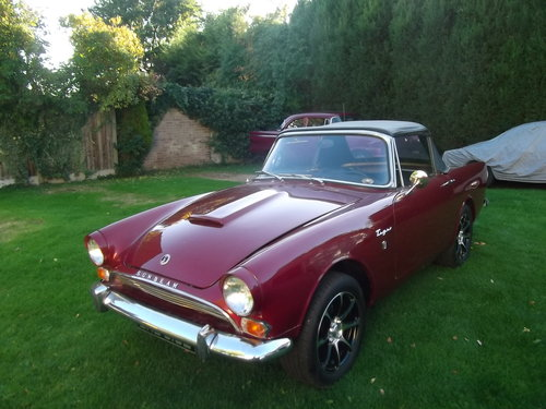 Sunbeam Tiger Clone 1967 Alpine Left Hand Drive, Convertible For Sale (picture 1 of 6)