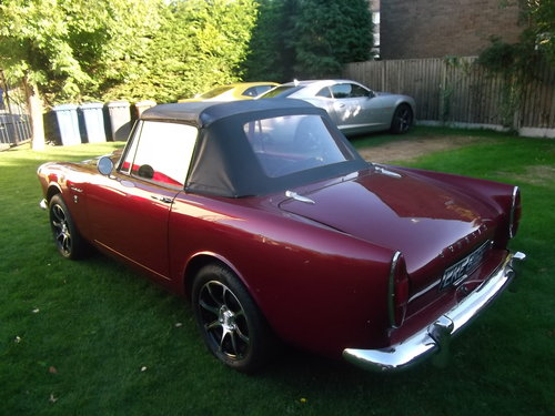Sunbeam Tiger Clone 1967 Alpine Left Hand Drive, Convertible For Sale (picture 2 of 6)