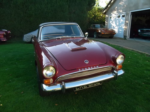 Sunbeam Tiger Clone 1967 Alpine Left Hand Drive, Convertible For Sale (picture 4 of 6)