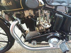 1930 sunbeam model 90 tt race bike