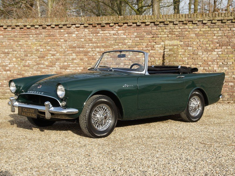 1963 Sunbeam Alpine Series 2 Convertible For Sale (picture 1 of 6)