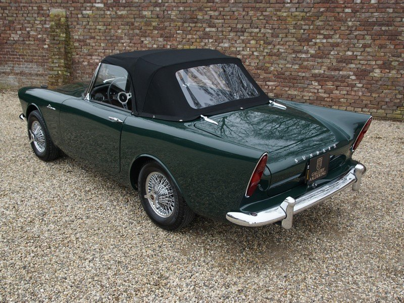 1963 Sunbeam Alpine Series 2 Convertible For Sale (picture 2 of 6)