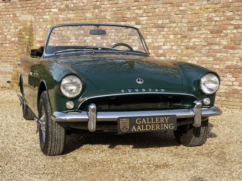 1963 Sunbeam Alpine Series 2 Convertible For Sale (picture 5 of 6)