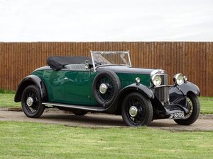 1931 Sunbeam 16 (18.2hp) Drophead Coupe For Sale by Auction