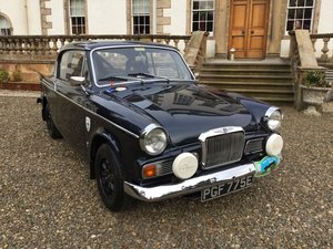 1967 SUNBEAM RAPIER SERIES V 'WORKS SPECIFICATION' For Sale by Auction