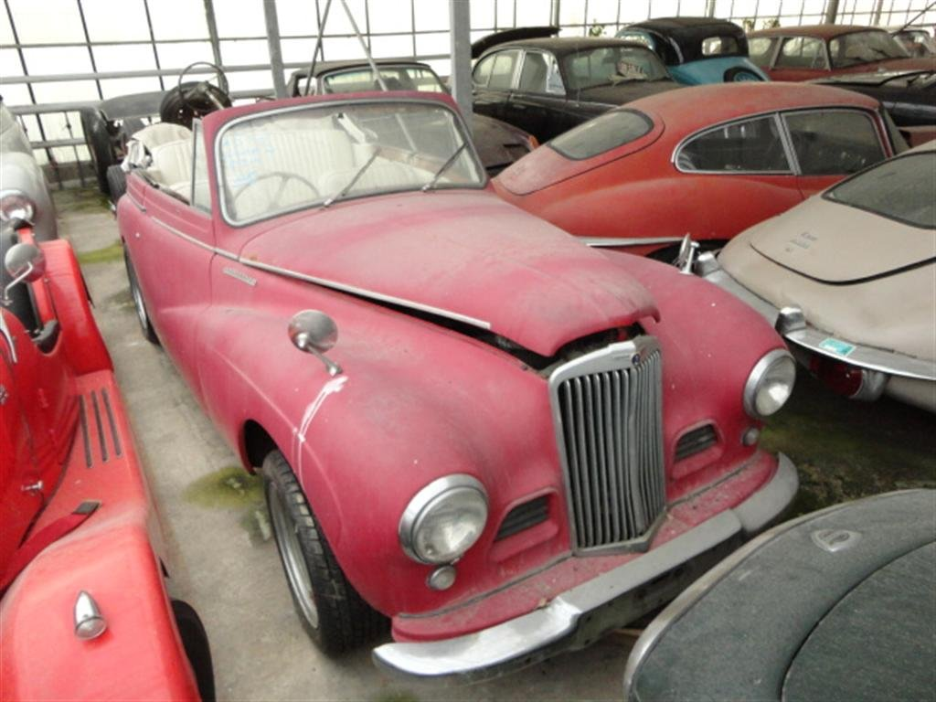 1952 Sunbeam Talbot DHC Right Hand Drive RHD for sale For Sale (picture 1 of 6)
